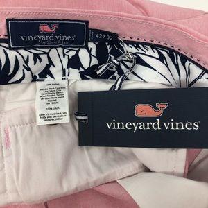 Vineyard Vines Pants - Vineyard Vines Pink Chinos Size 42 X 32